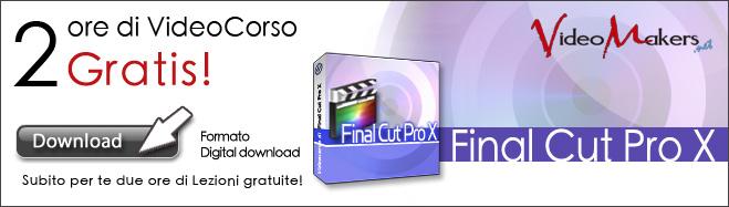Promo: VideoCorso di Final Cut Pro X
