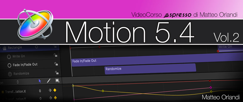 Corso di Motion 5.4 Vol1