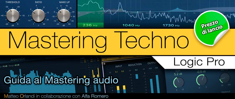 Video Corso Mastering Techno - Logic Pro