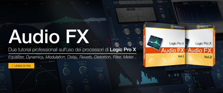 Corso Audio FX di Logic Pro
