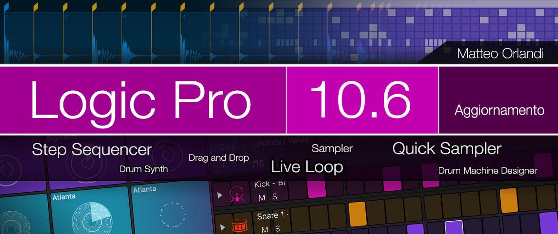 Video Corso Logic Pro 10.6