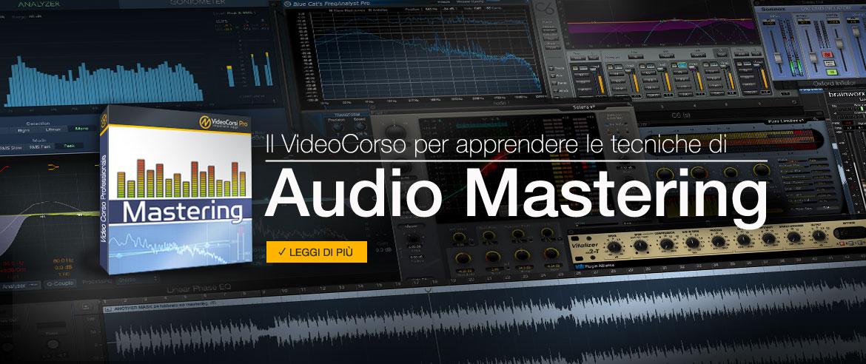 Corso di Mastering audio