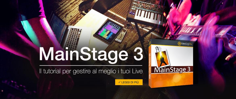 Corso di MainStage 3