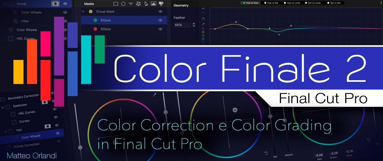 Video Corso Color FInale 2 - Finał Cut Pro