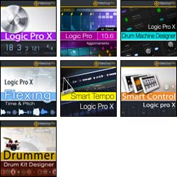 Pack Logic Pro - 7 VideoCorsi