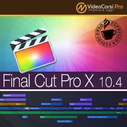 Video Corso Espresso Final Cut Pro X 10.4