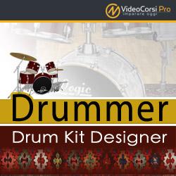 Drummer & Drum Kit Designer  - Logic Pro X