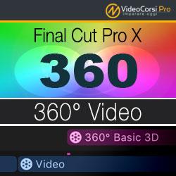 360° Video - Final Cut Pro X