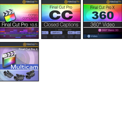 Pack Final Cut Pro X - 4 VideoCorsi