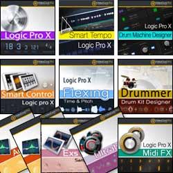 Pack Logic Pro X Completo - 11 VideoCorsi