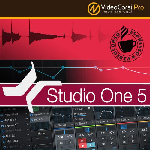 VideoCorso Studio One 5 <br>Tutorial Espresso