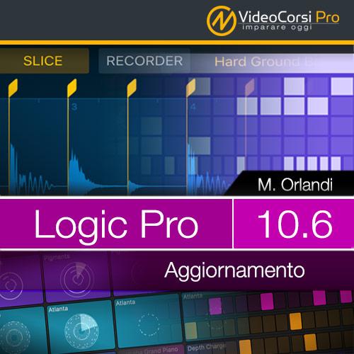 Video Corso Logic Pro 10.6 <br>Aggiornamento