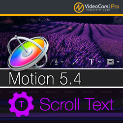 Scroll Text - Motion 5.4