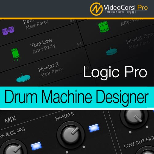 DrumMachine Designer - Logic Pro X