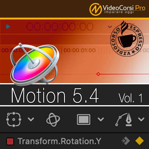 VideoCorso Motion 5.4 Vol.1 <br>Tutorial Espresso